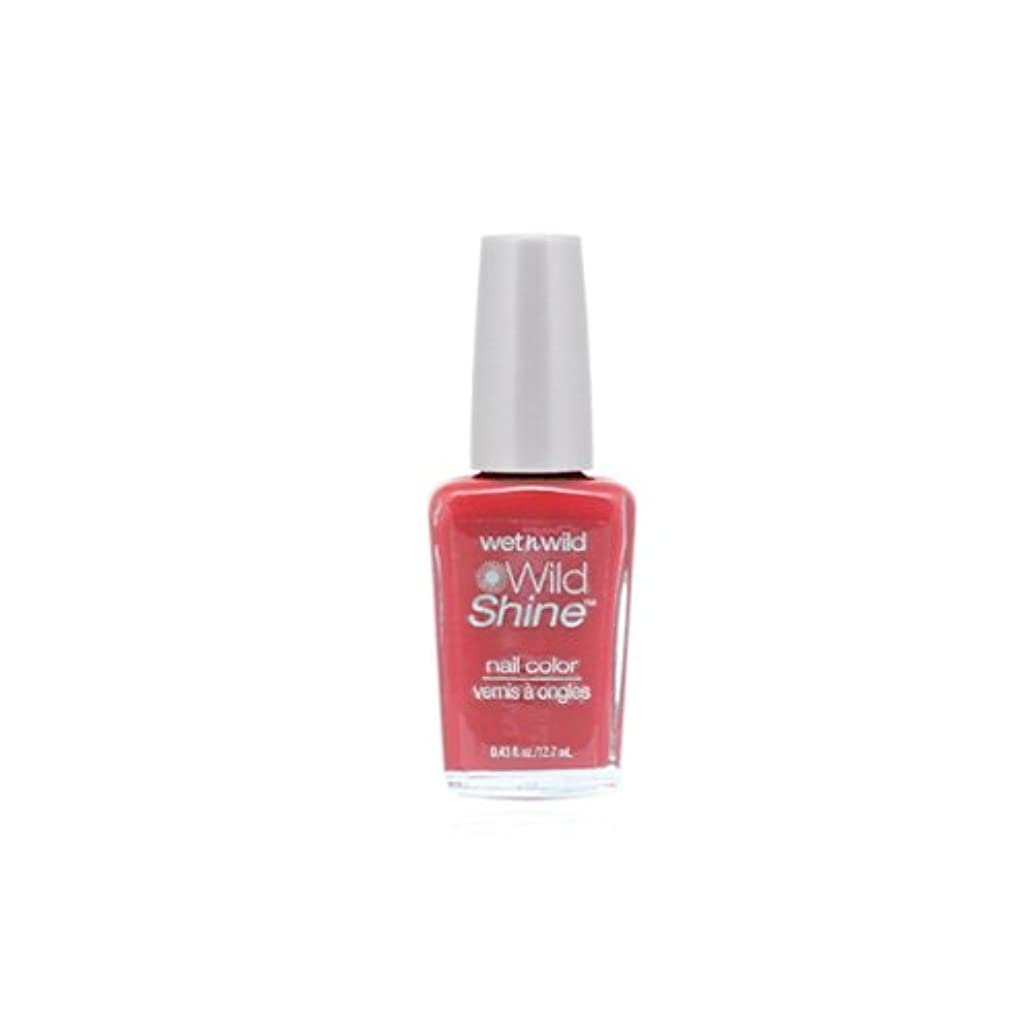 頼る失業者海峡ひもWET N WILD Wild Shine Nail Color - Casting Call (DC) (並行輸入品)