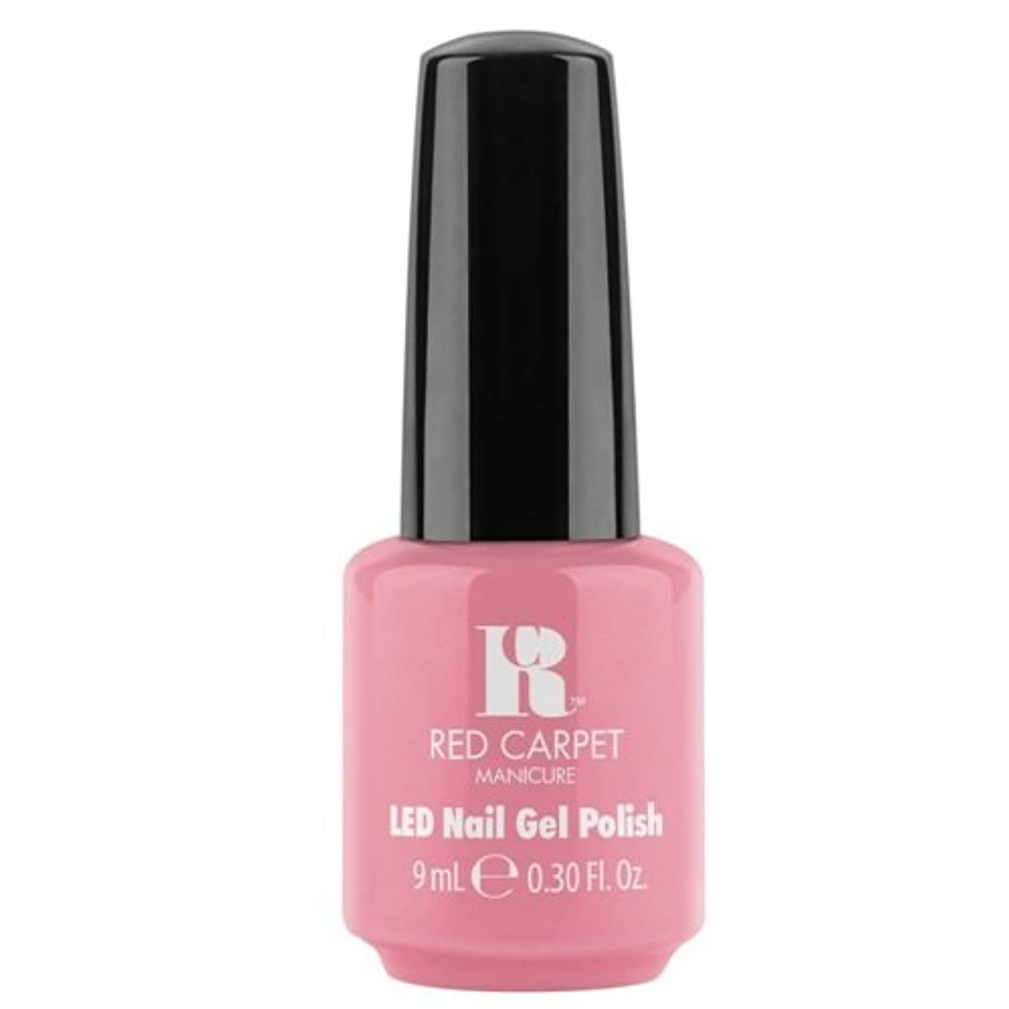 日帰り旅行に極めて重要な飼い慣らすRed Carpet Manicure - LED Nail Gel Polish - Polished and Poised - 0.3oz / 9ml