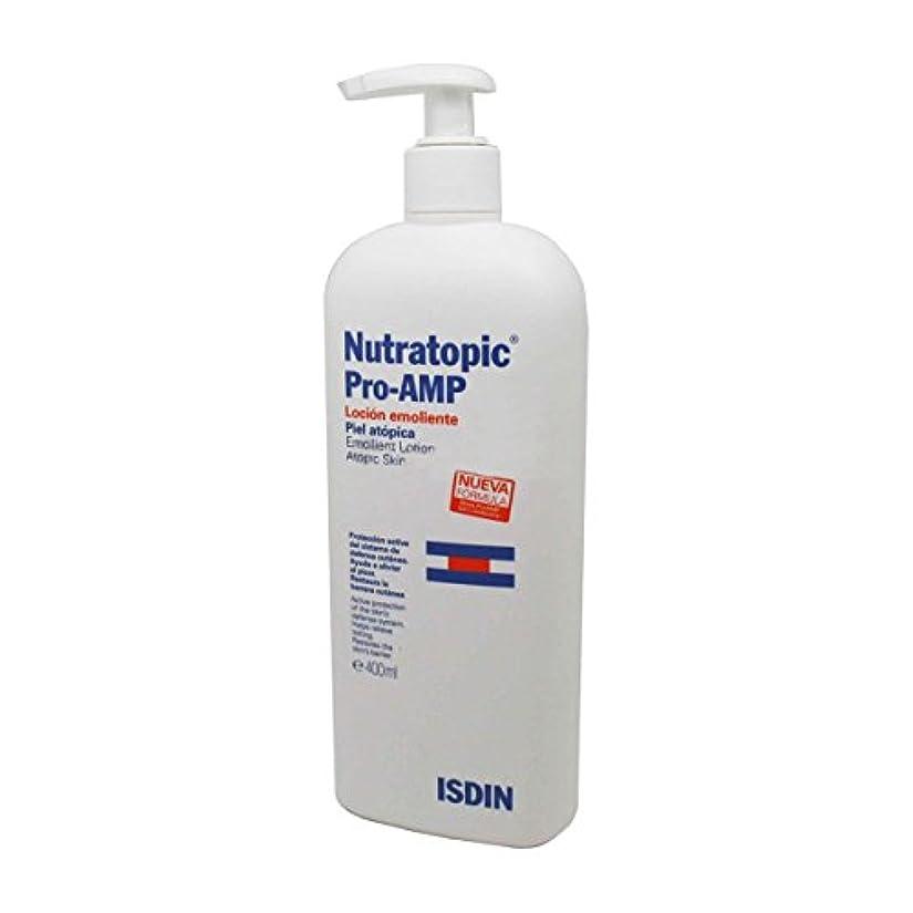 乳白どれかラッカスIsdin Nutratopic Pro-amp Emollient Lotion 400ml [並行輸入品]