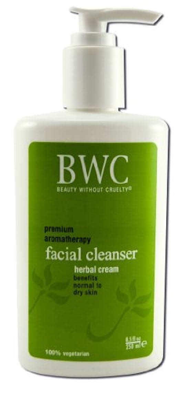 補う冷酷な準備するBeauty Without Cruelty Herbal Cream Facial Cleanser 235 ml