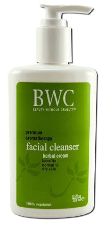 装備するデッドロック学期Beauty Without Cruelty Herbal Cream Facial Cleanser 235 ml