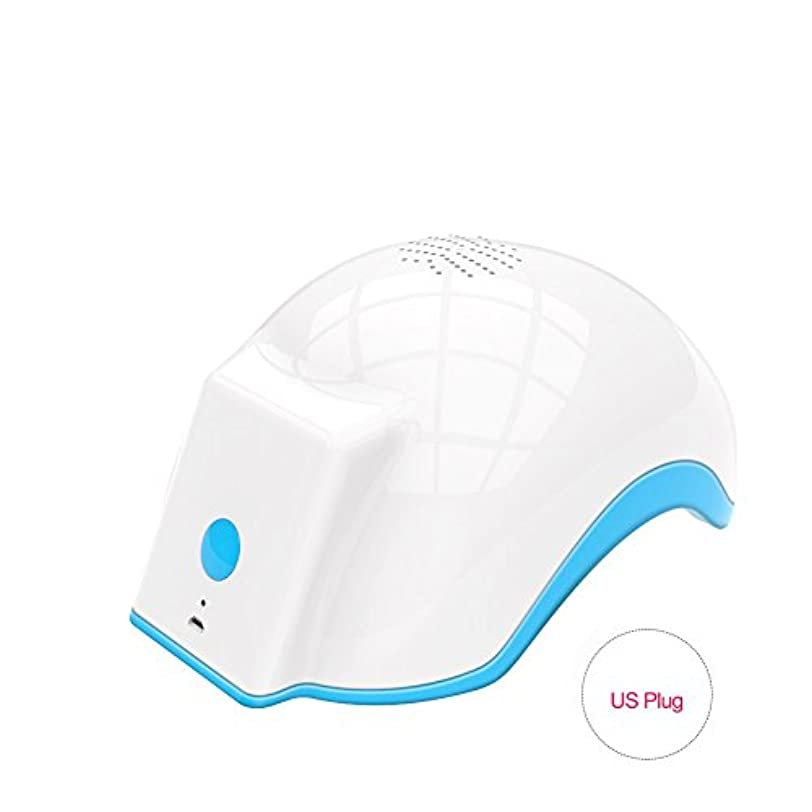 程度懺悔新着育毛ヘルメット、100-240v脱毛脱毛脱毛症キャップは、発毛を促進し、逆間伐、高密度再生(US Plug)
