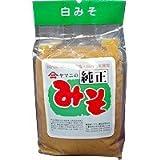 白味噌 国内産丸大豆(豆味噌) 手作り天然醸造・無添加醗酵