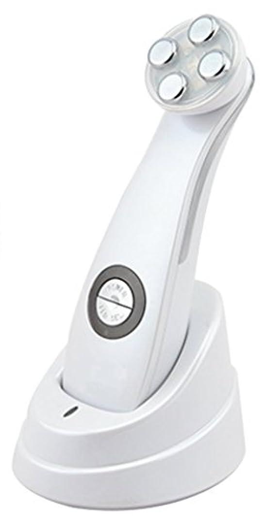うそつき所持トーナメント美顔器 Dr. Witch ビューティフェイスマシン ホワイト 軽量 1機5役 EMS メソポレーション エレクトロポレーション RF LED