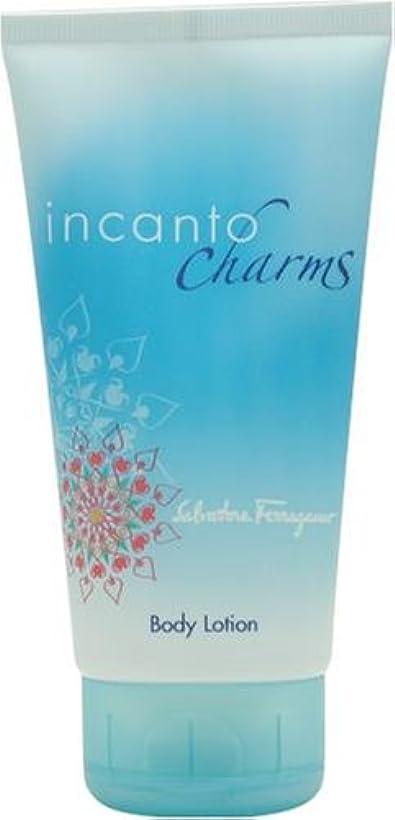 バイオリニスト値する細心のフェラガモ インカントチャーム ボディローション150ml