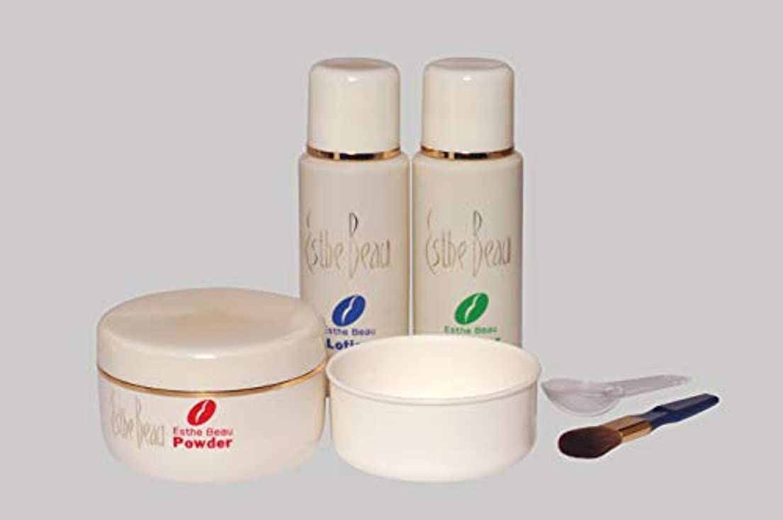 エンジニアリング定常炭水化物エステボウ フェイスリフトパック 3点セット リフトアップ化粧品 スキンケア 基礎化粧品 フェイスパック