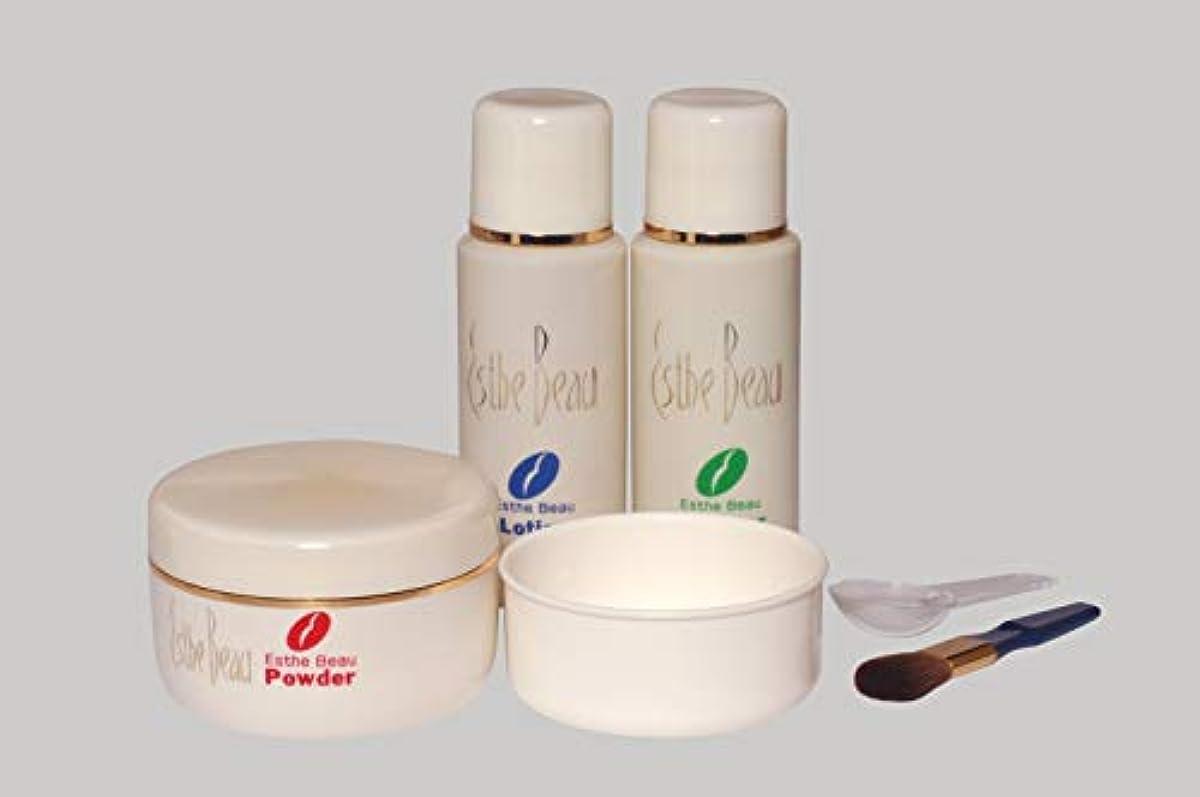 価格フェロー諸島体細胞エステボウ フェイスリフトパック 3点セット リフトアップ化粧品 スキンケア 基礎化粧品 フェイスパック