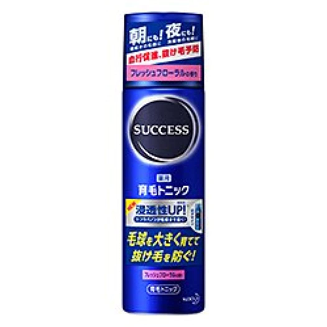 旅行者抗生物質トンネル【花王】サクセス 薬用育毛トニック フレッシュフローラルの香り 180g ×5個セット