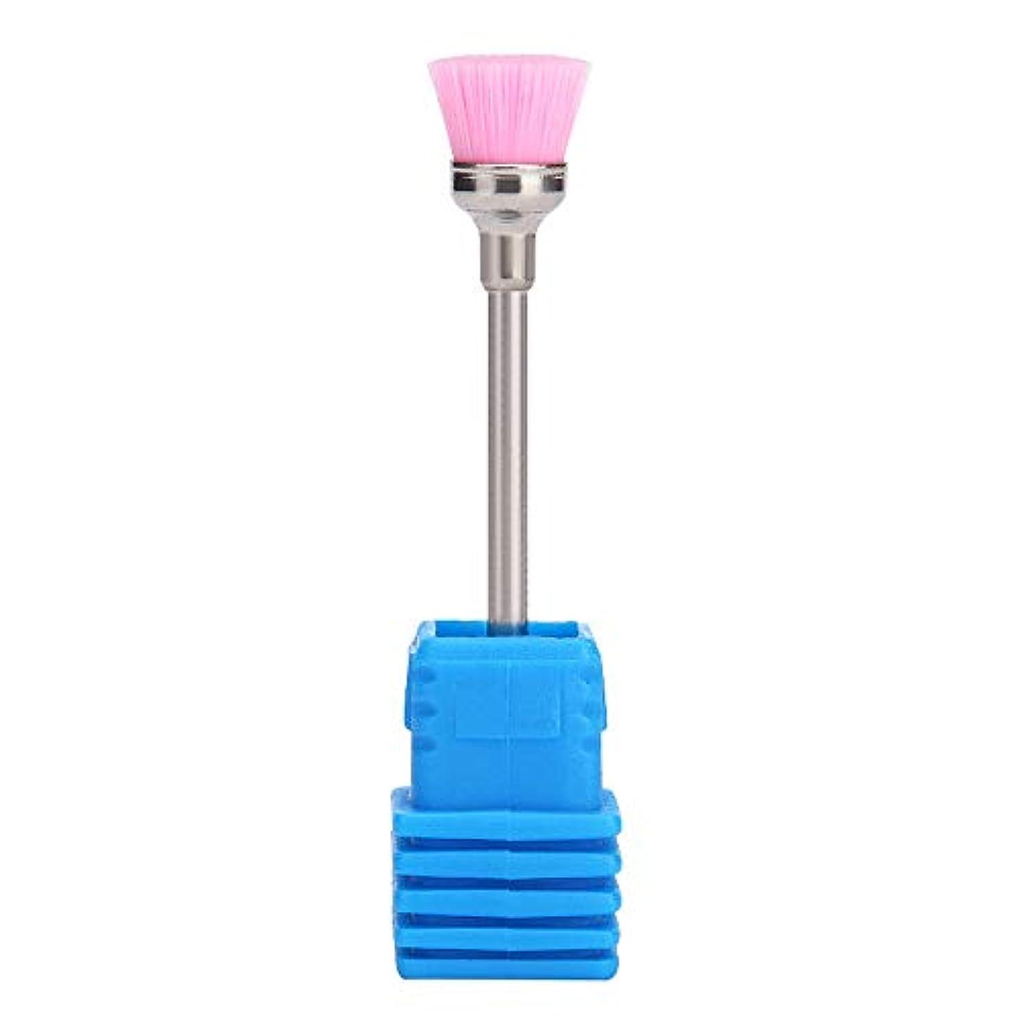 こっそりランプジョイントLazayyii 女性 ネイルブラシ ネイル ドリルビット 清掃用具 (ピンク)