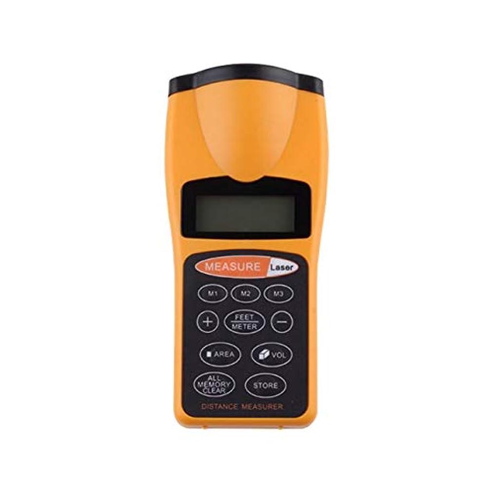 幸運年次持ってるDeeploveUU デジタルLCD距離測定テープメジャーメーター指定ポイント距離計エリア電卓ポインタ