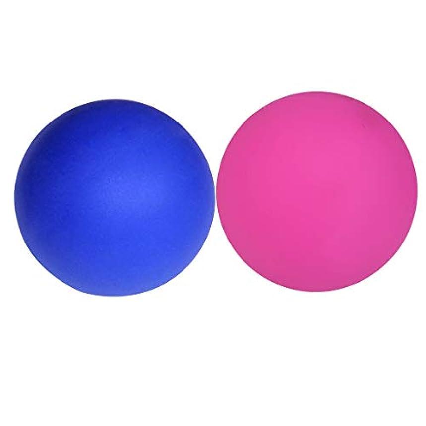 静脈シャッフル性差別KESOTO 2個 ラクロスマッサージボール マッサージ マッサージャー ボール リリース ポイントマッサージ