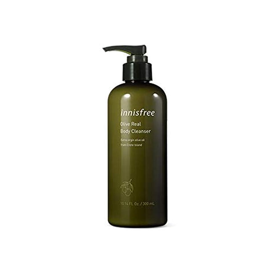 ビーチ筋甘やかすイニスフリー Innisfree オリーブリアルボディークレンザー(300ml) Innisfree Olive Real Body Cleanser(300ml) [海外直送品]