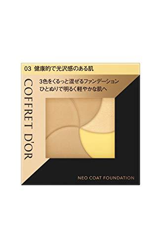 コフレドール コフレドール COFFRET D'OR ネオコートファンデーション 本体 03 健康的で光沢感のある肌 9G 無香料の画像