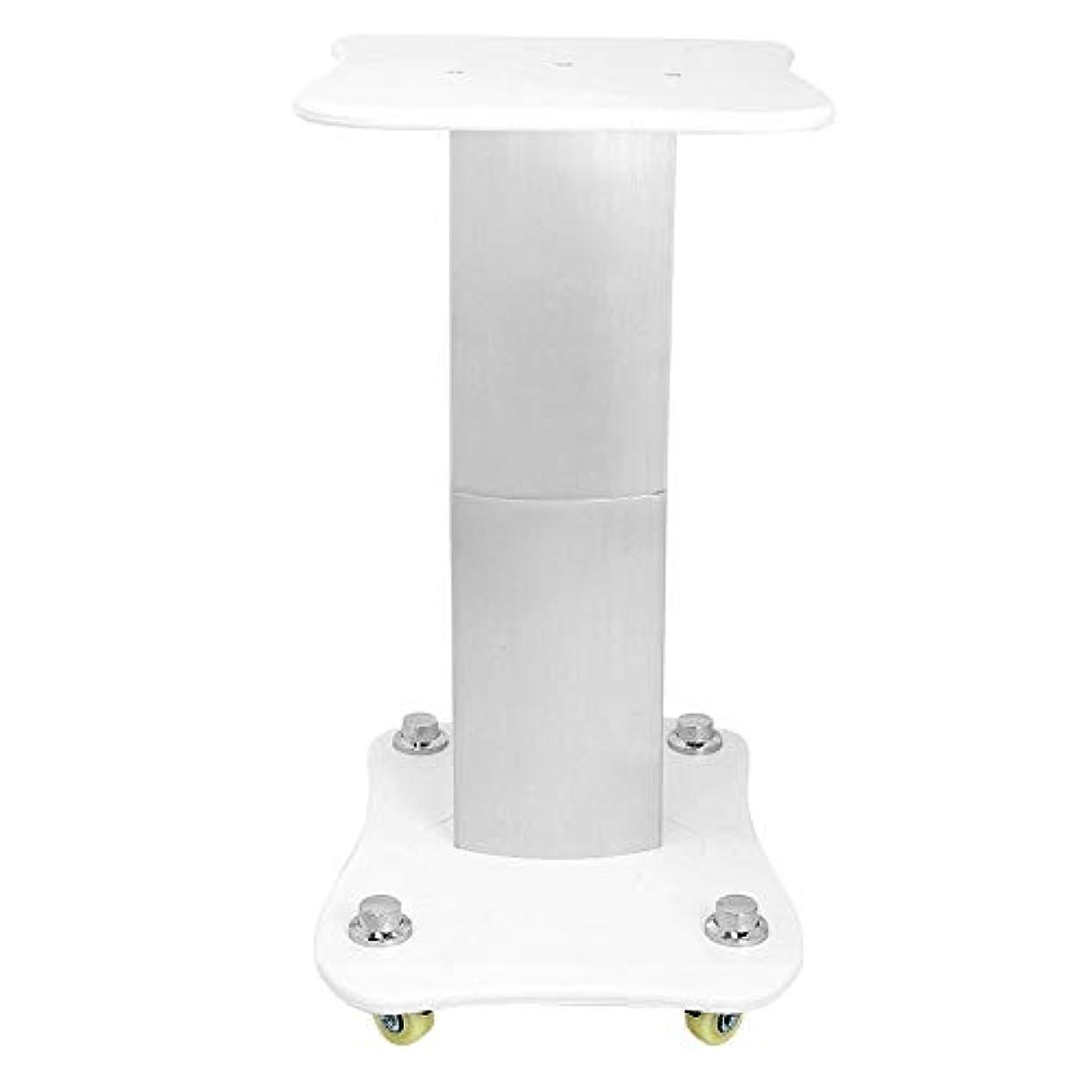 学部長ステートメント散らす美容院のトロリー、台座の車輪のアルミニウム立場が付いている多機能の大広間の使用圧延のカートのトロリー