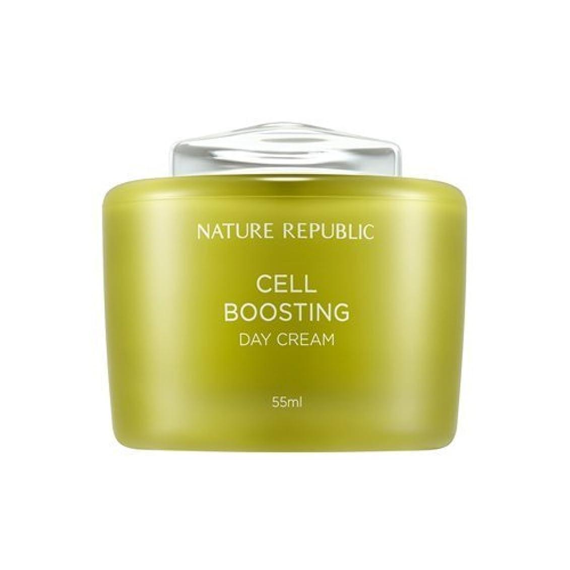 活気づける歌手家族NATUREREPUBLIC Cell boosting Day Cream