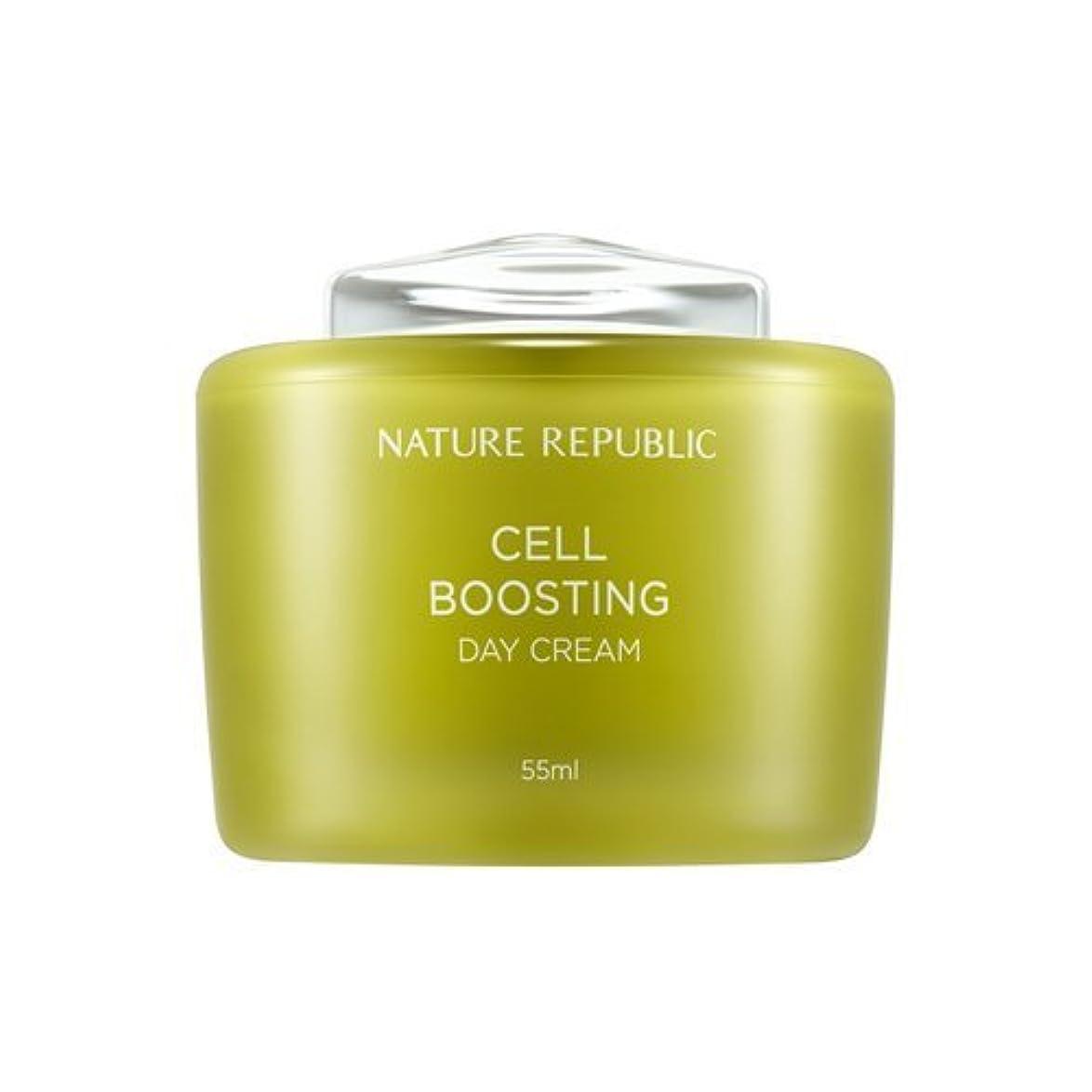 の中で逆さまに和解するNATUREREPUBLIC Cell boosting Day Cream
