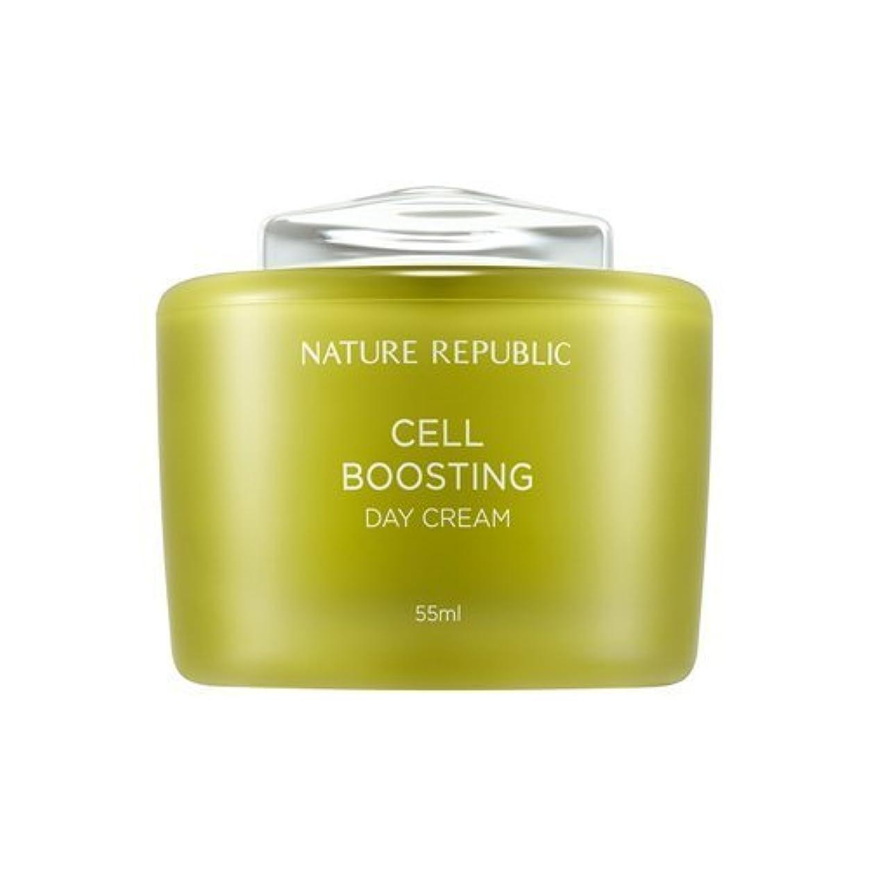 扇動ケイ素修復NATUREREPUBLIC Cell boosting Day Cream