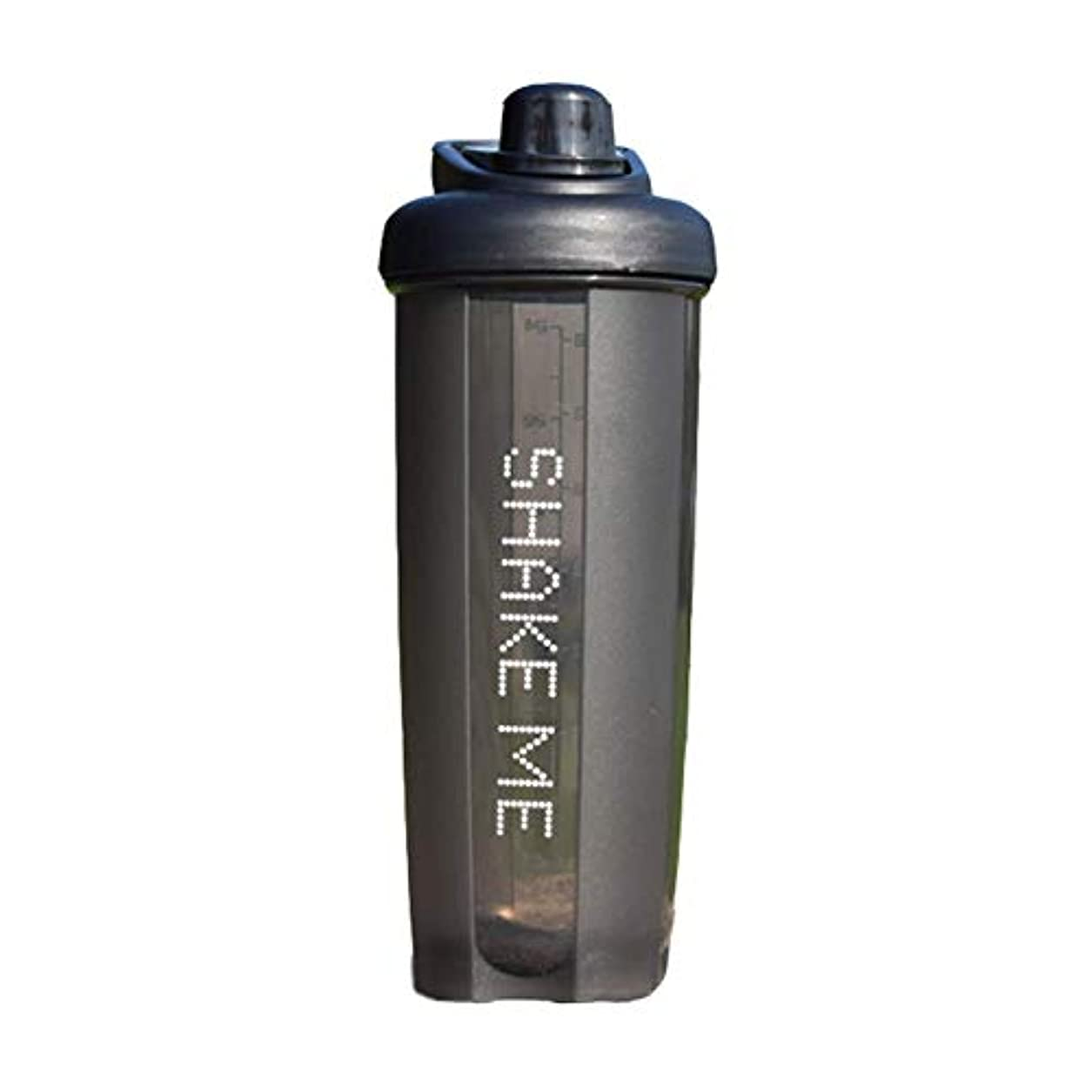 下着衝突兵士GOIOD ブレンダーボトル ミキサー シェーカー ボトル Classic (500-700ml) ブラック