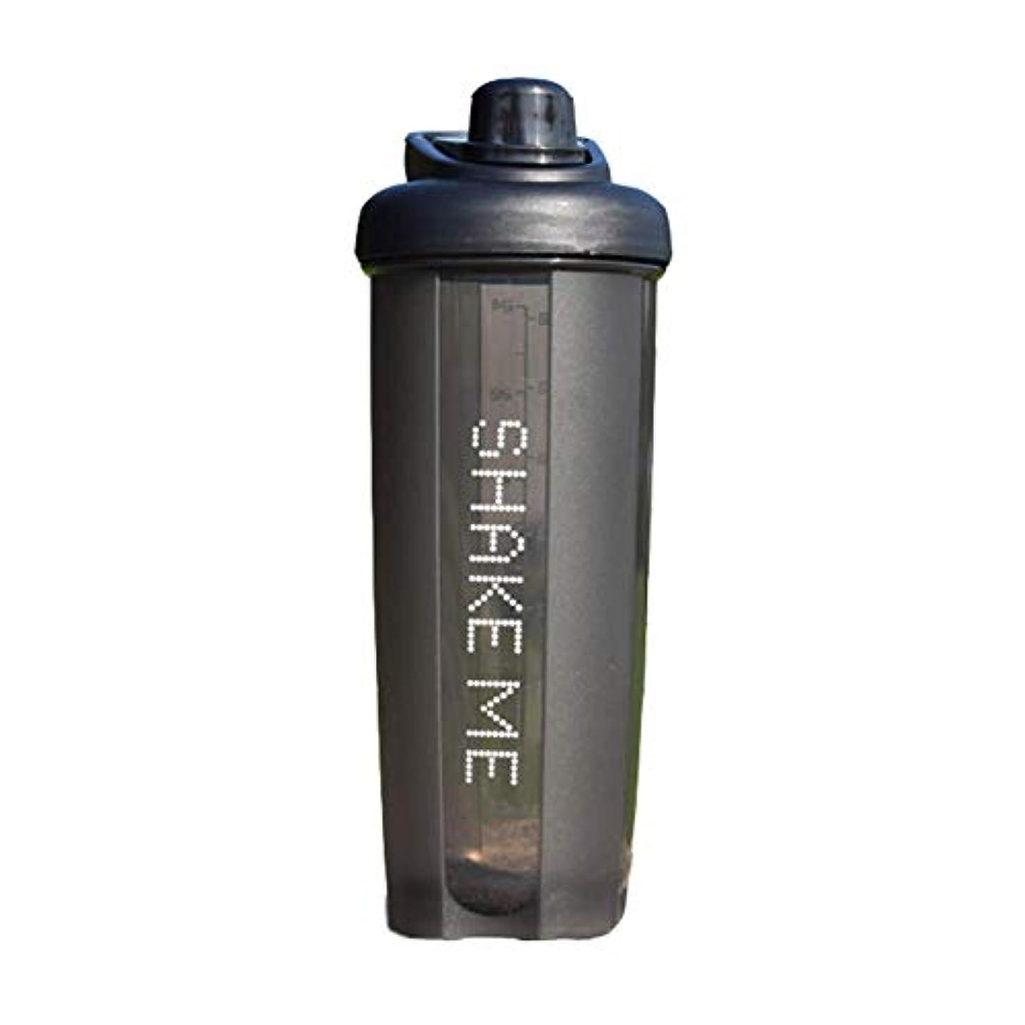 子エンジンバンドGOIOD ブレンダーボトル ミキサー シェーカー ボトル Classic (500-700ml) ブラック