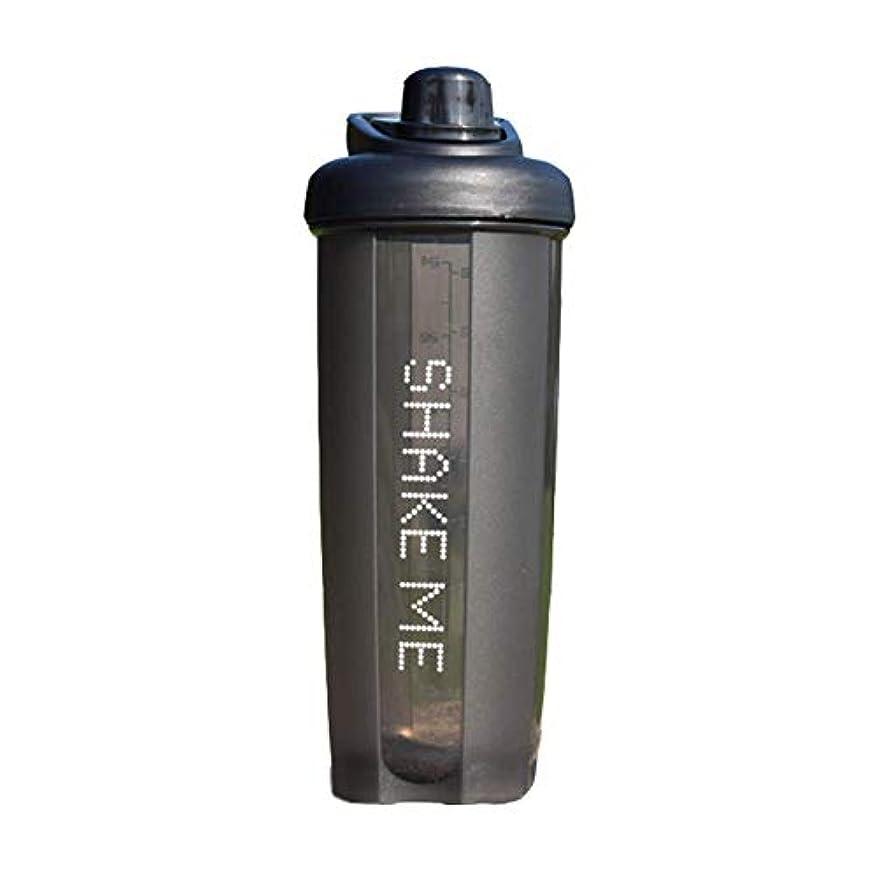 信頼性のある名目上の国際GOIOD ブレンダーボトル ミキサー シェーカー ボトル Classic (500-700ml) ブラック