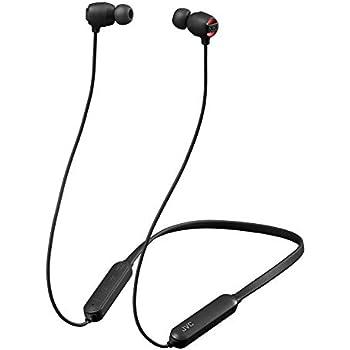 JVC HA-XC10BT-B Bluetoothイヤホン XXシリーズ/重低音/防水・防塵・耐衝撃/ネックバンド/15時間連続再生 ブラック