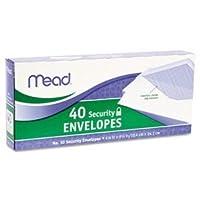 Meadセキュリティ封筒、2ボックス40の封筒各(アイテム75214)