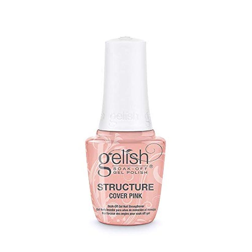 核折り目運営Gelish Brush-On Structure Gel - Cover Pink - 15 ml / 0.5 oz
