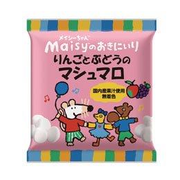 創健社 メイシーちゃんのおきにいり りんごとぶどうのマシュマロ 35.2g