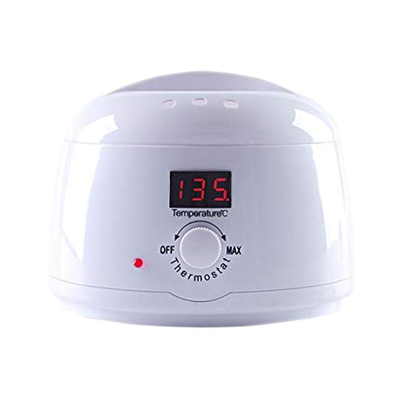 部分スプリット強いますハードワックスLED表示ハードワックスワックスアプリケーターは、インテリジェント温度ワックスウォーマーワックスがけアプリケーターコントロールシステムタッチボタン、ワックスがけアプリケータースティック