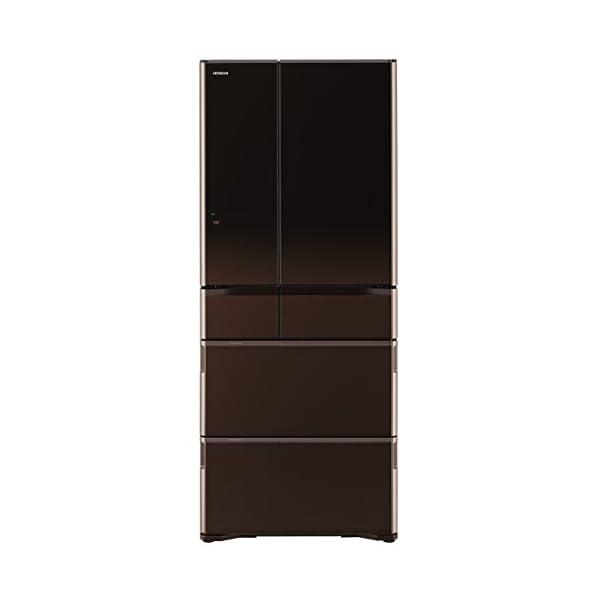 日立 冷蔵庫 グラデーションブラウン R-WX6...の商品画像