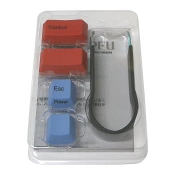 PFU カラーキートップセット(HHKB HYBRID Type-S/HYBRID/Classic/ Professionalシリーズ専用) PD-KB400KT01