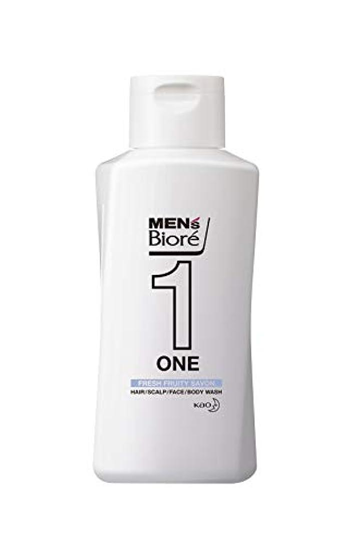 落ちた忠実な病者メンズビオレ ONE オールインワン全身洗浄料 フルーティーサボンの香り レギュラー 200ml