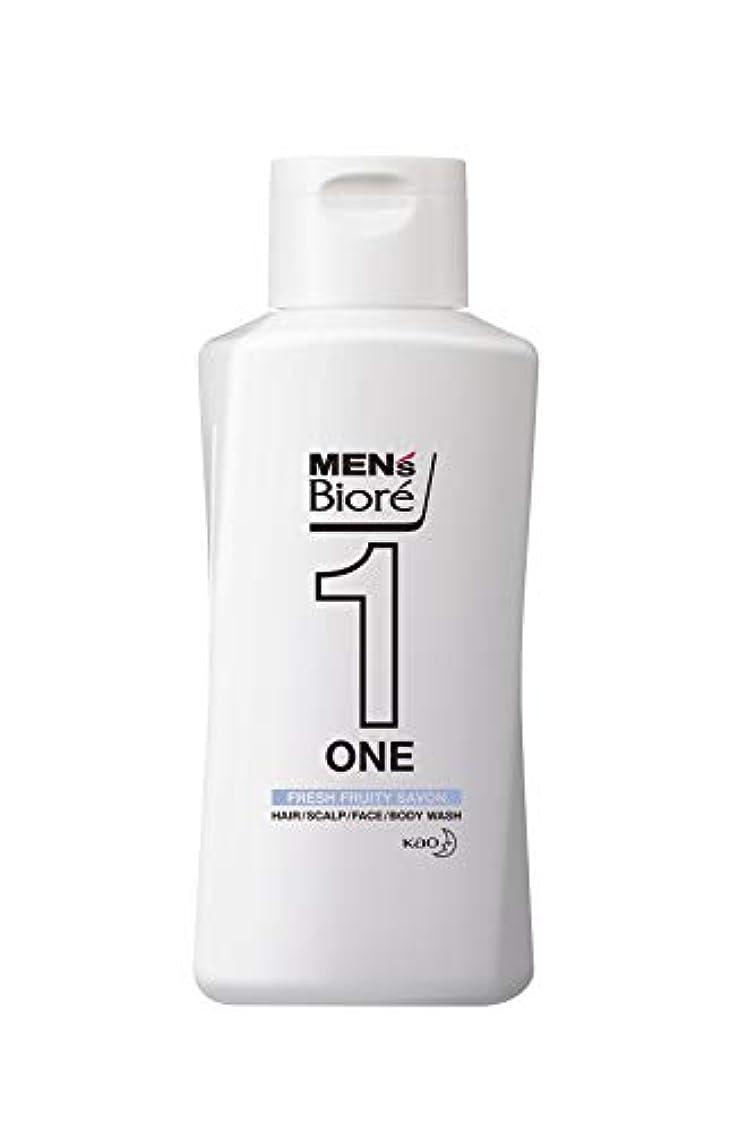 アルコール特殊公式メンズビオレ ONE オールインワン全身洗浄料 フルーティーサボンの香り レギュラー 200ml