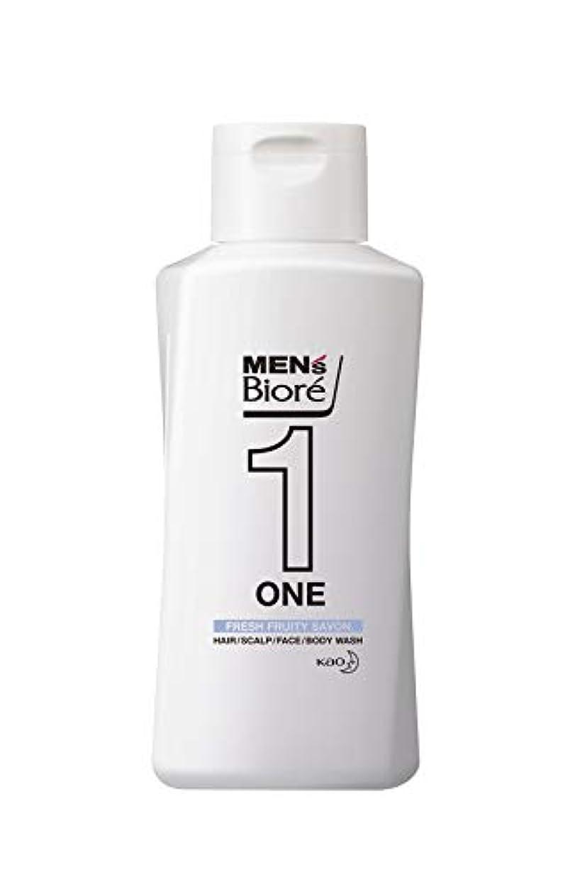 織る役立つ中傷メンズビオレ ONE オールインワン全身洗浄料 フルーティーサボンの香り レギュラー 200ml