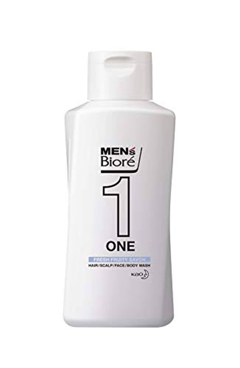 メンズビオレ ONE オールインワン全身洗浄料 フルーティーサボンの香り レギュラー 200ml