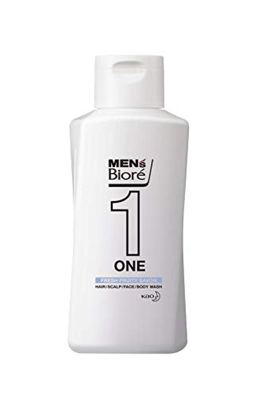 和解するうれしい素子メンズビオレ ONE オールインワン全身洗浄料 フルーティーサボンの香り レギュラー 200ml