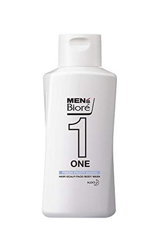 インデックス絶えず揮発性メンズビオレ ONE オールインワン全身洗浄料 フルーティーサボンの香り レギュラー 200ml