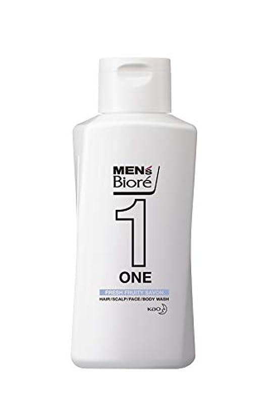 どういたしましてアプトポークメンズビオレ ONE オールインワン全身洗浄料 フルーティーサボンの香り レギュラー 200ml