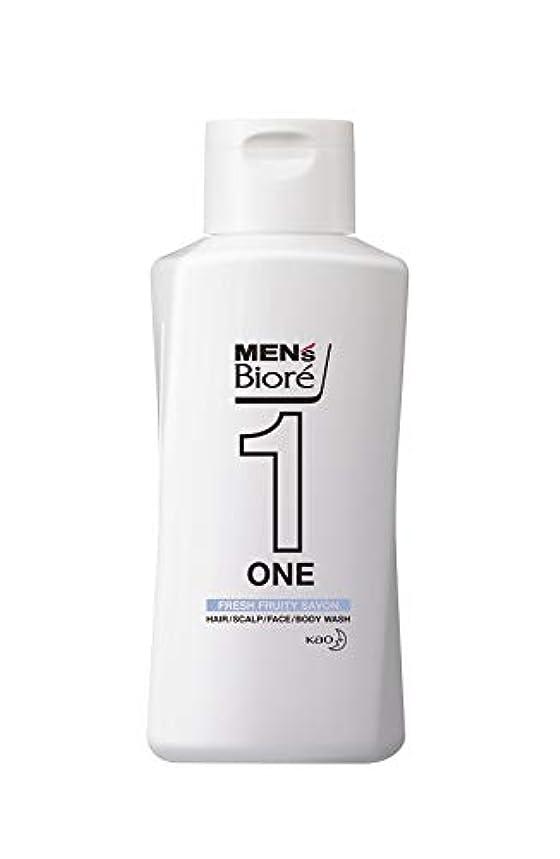 ディスカウント定数内部メンズビオレ ONE オールインワン全身洗浄料 フルーティーサボンの香り レギュラー 200ml