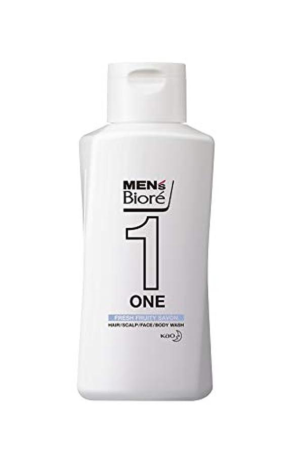 うんざり脊椎反動メンズビオレ ONE オールインワン全身洗浄料 フルーティーサボンの香り レギュラー 200ml
