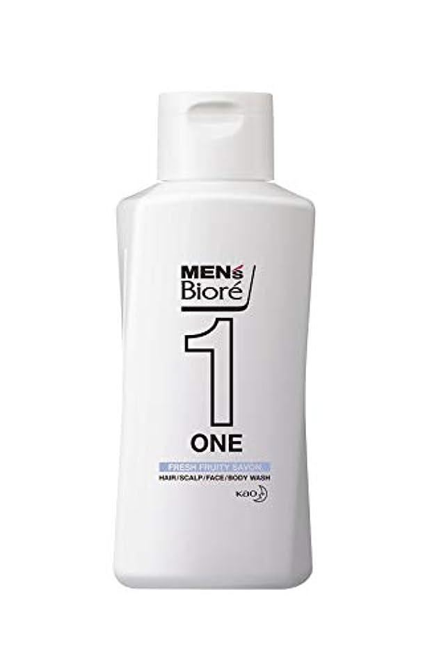 明日ベーカリー雑草メンズビオレ ONE オールインワン全身洗浄料 フルーティーサボンの香り レギュラー 200ml