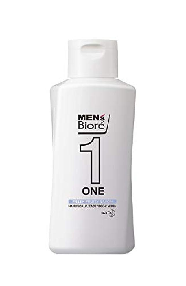 クレーター専門化する思春期のメンズビオレ ONE オールインワン全身洗浄料 フルーティーサボンの香り レギュラー 200ml
