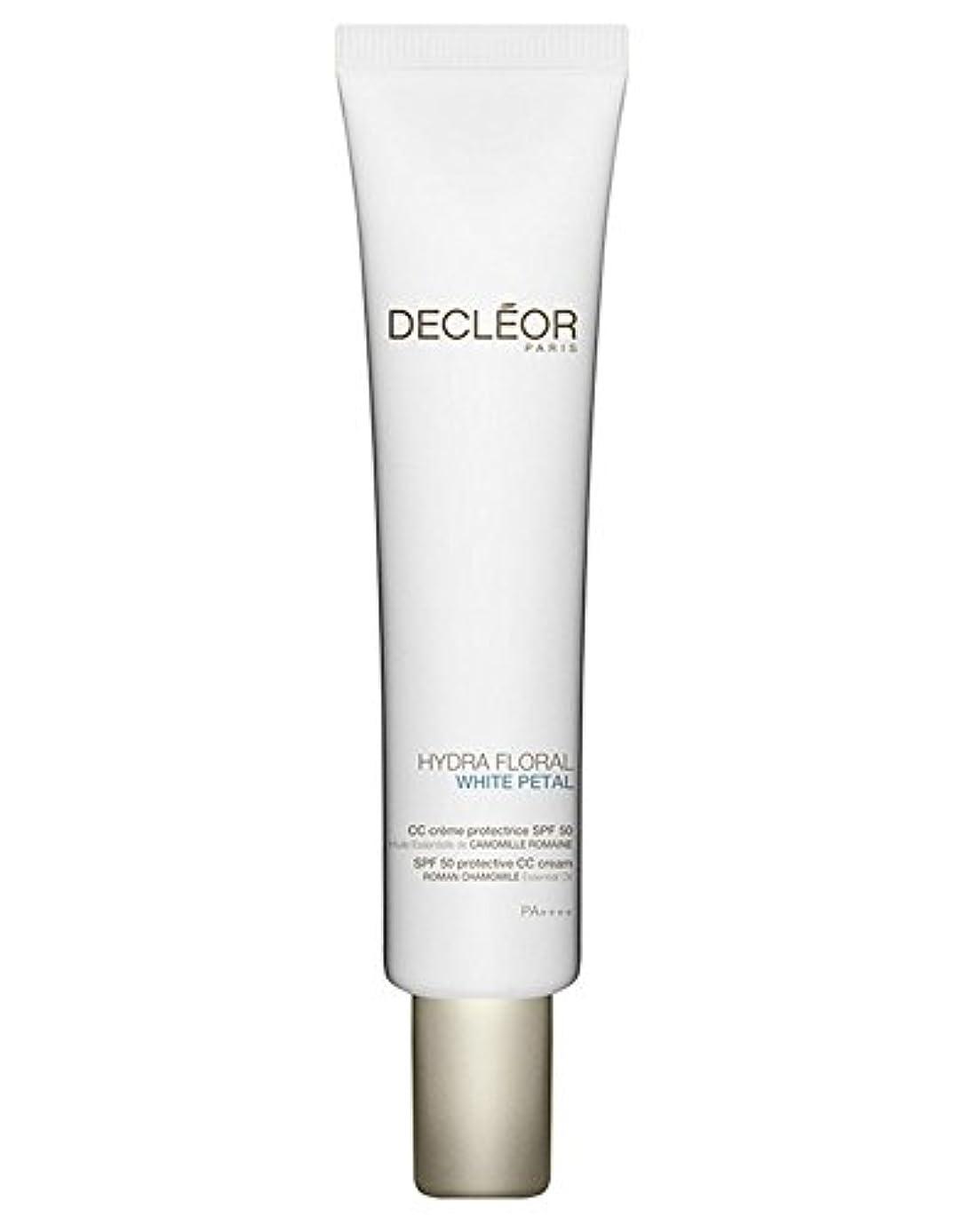 文法海藻免除するデクレオール Hydra Floral White Petal Roman Chamomile Protective CC Cream SPF50 40ml/1.3oz並行輸入品