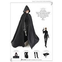 女性用 黒コート フルセット Artcreator_BM CC233 1/6 Female Black Cloak Full Set