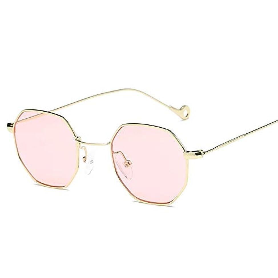遊具狐が欲しいAnstorematealliance Camping 男性女性のためのメガネ八角形ヴィンテージメタルフレームUV400サングラス