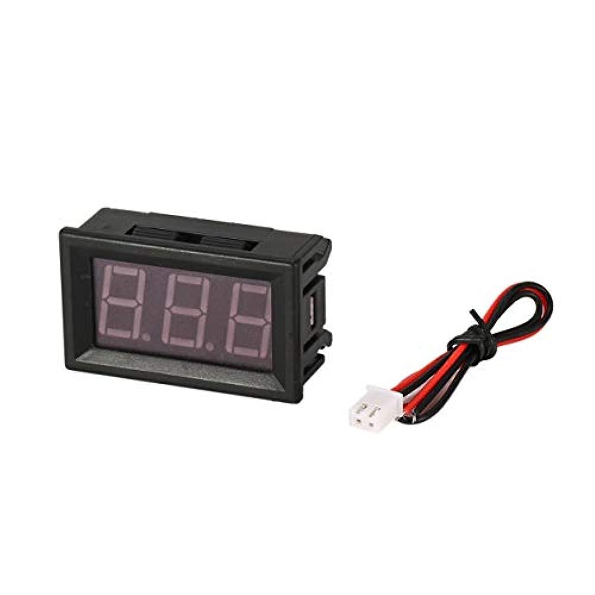 不安定バイオリン津波7-150V 0.56in 3線式LEDデジタルパネル電圧計電圧計カーボルトテスター