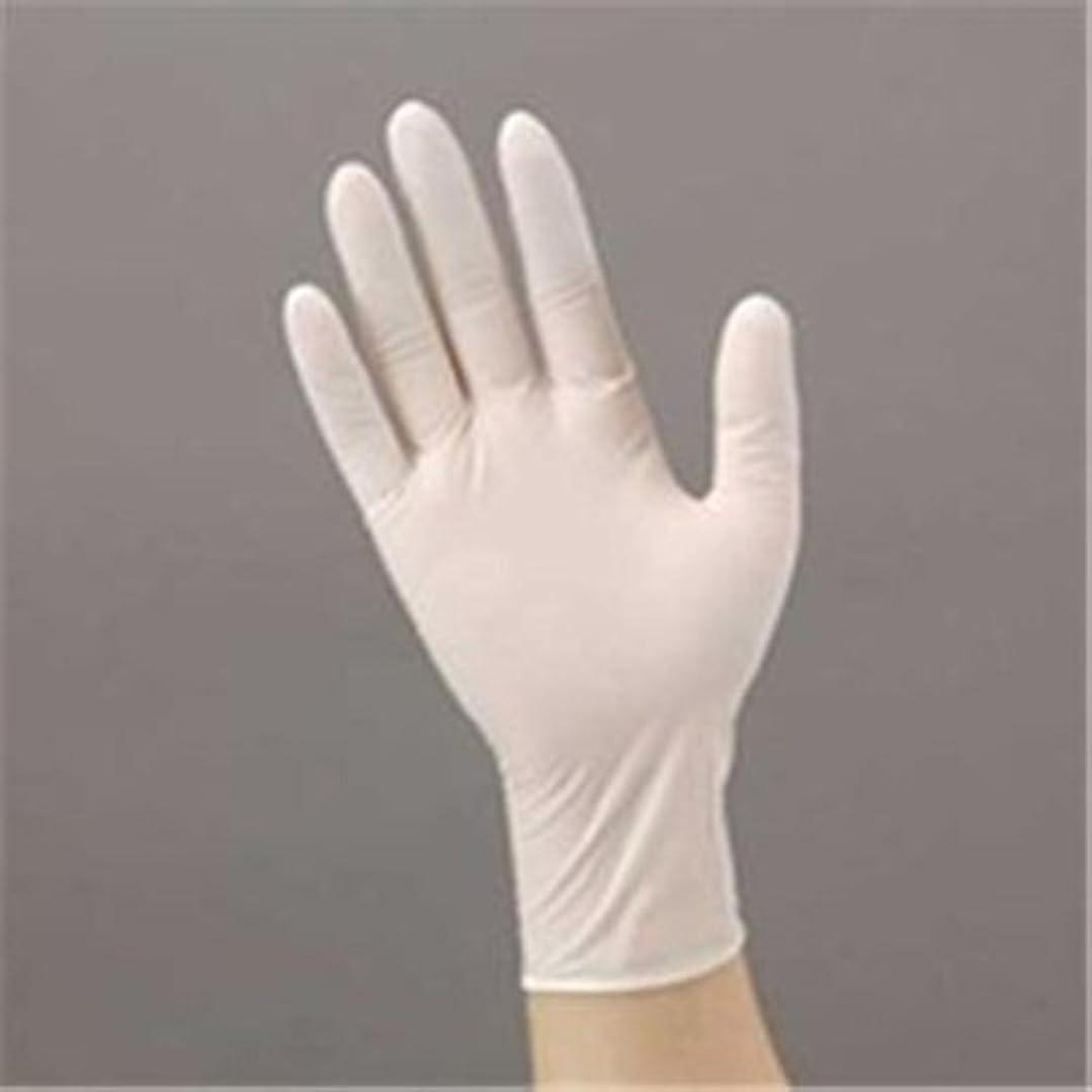 シロクマ煩わしい湿気の多いエステー ニトリル手袋 粉付 No981 L 12箱