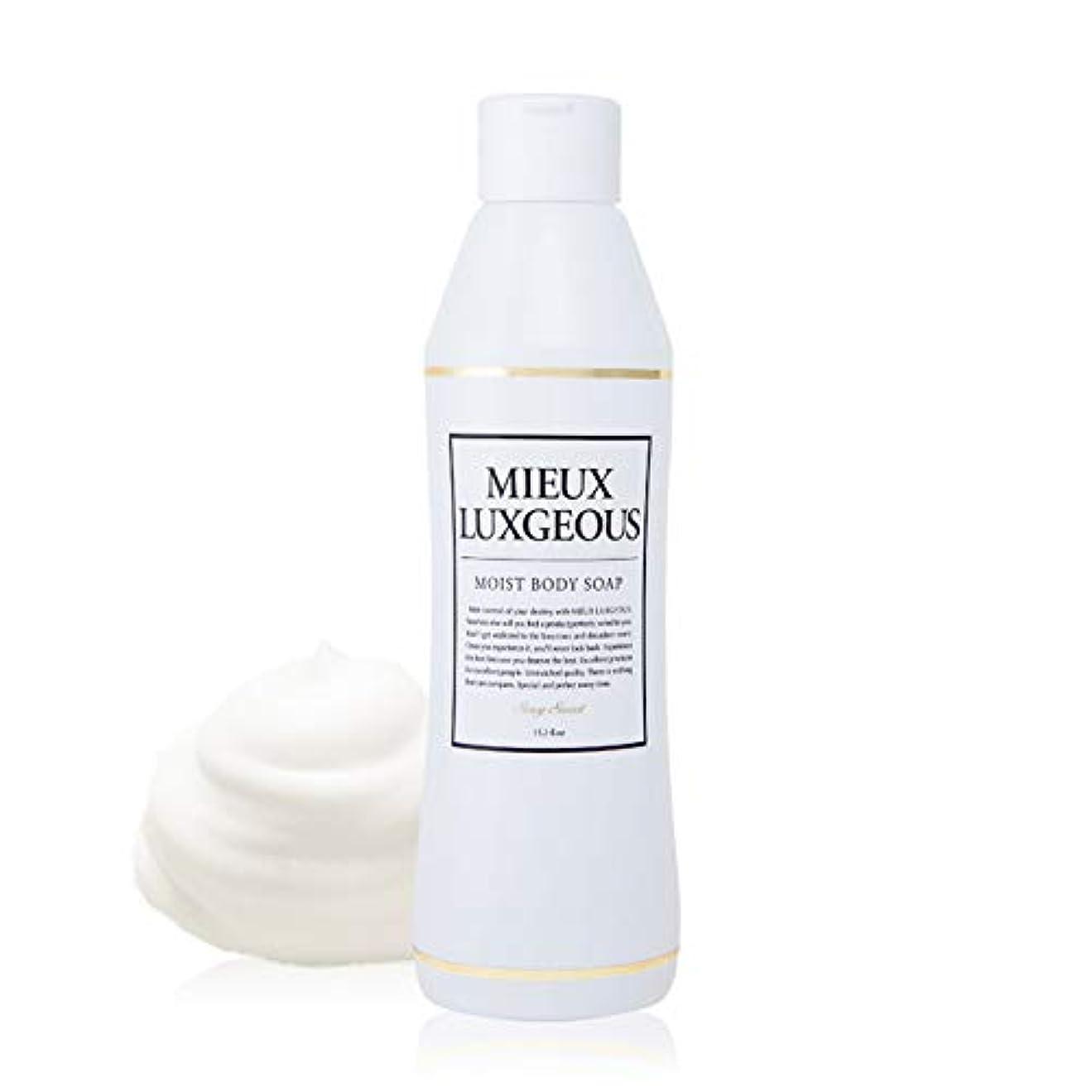 キャベツ液化する振る舞うミューラグジャス モイストボディソープ MOIST BODY SOAP - Sexy Sweetの香り