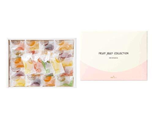 彩果の宝石 フルーツゼリーコレクション (50個入り) 国産もち米あられ1個セット