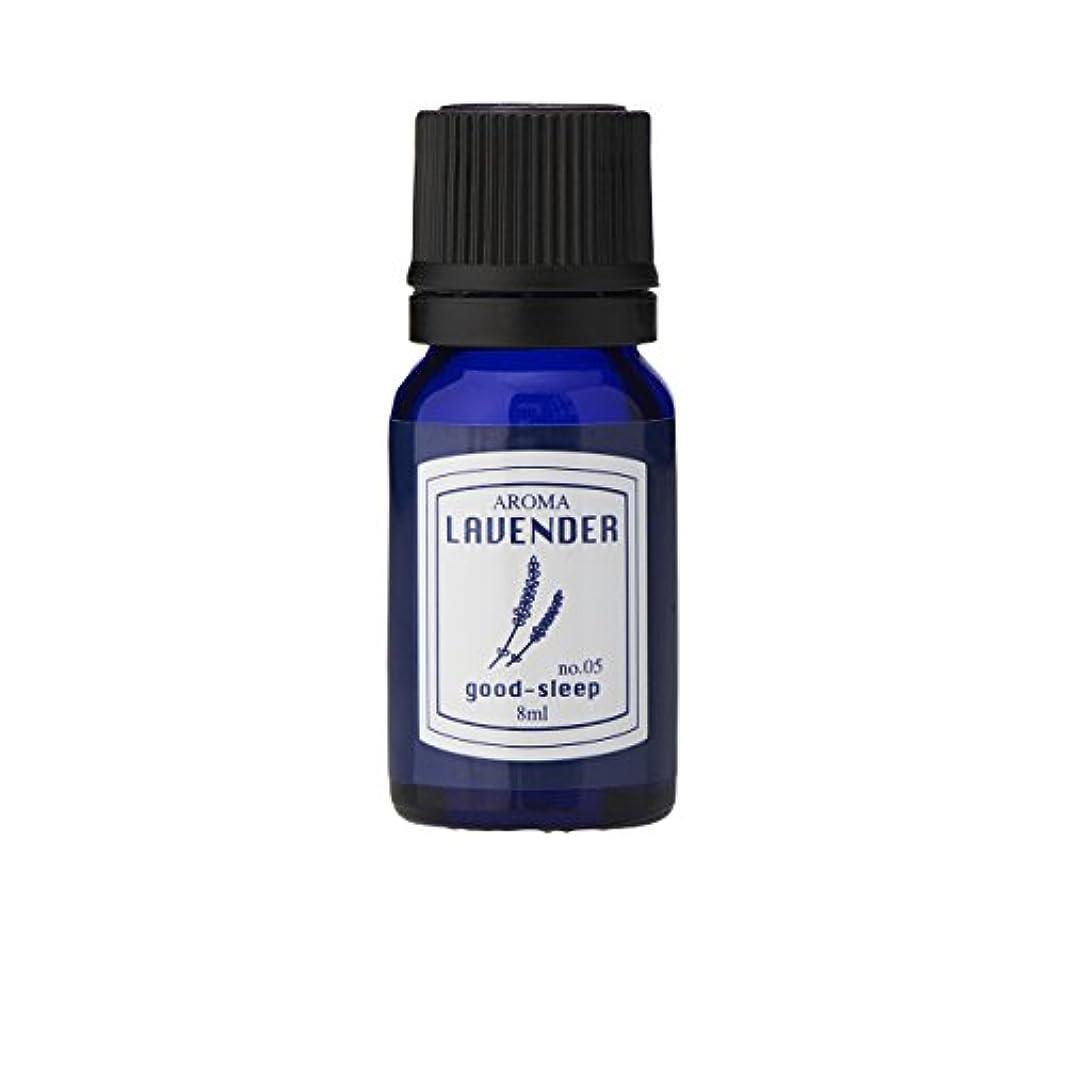 カナダヘルシー疼痛ブルーラベル アロマエッセンス8ml ラベンダー(アロマオイル 調合香料 芳香用 心落ち着ける清々しい香り)
